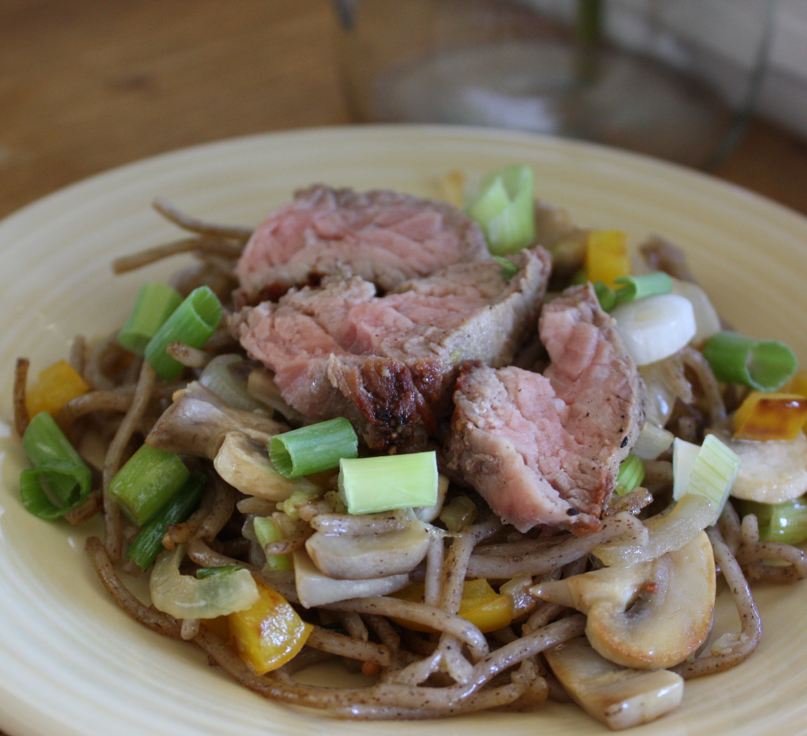 Soba Noodles With Beef & Vegetables