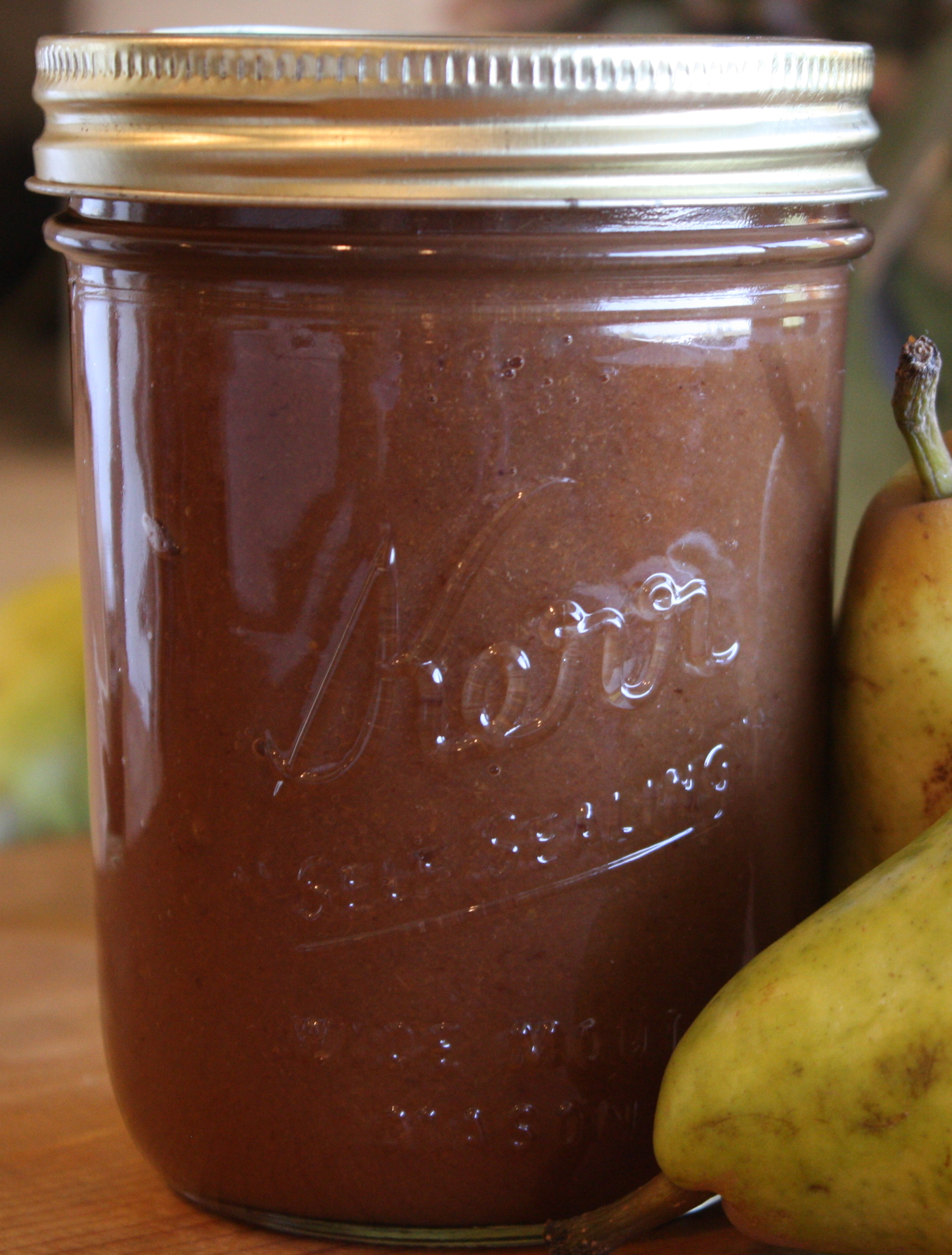 Pear Butter a la Crockpot