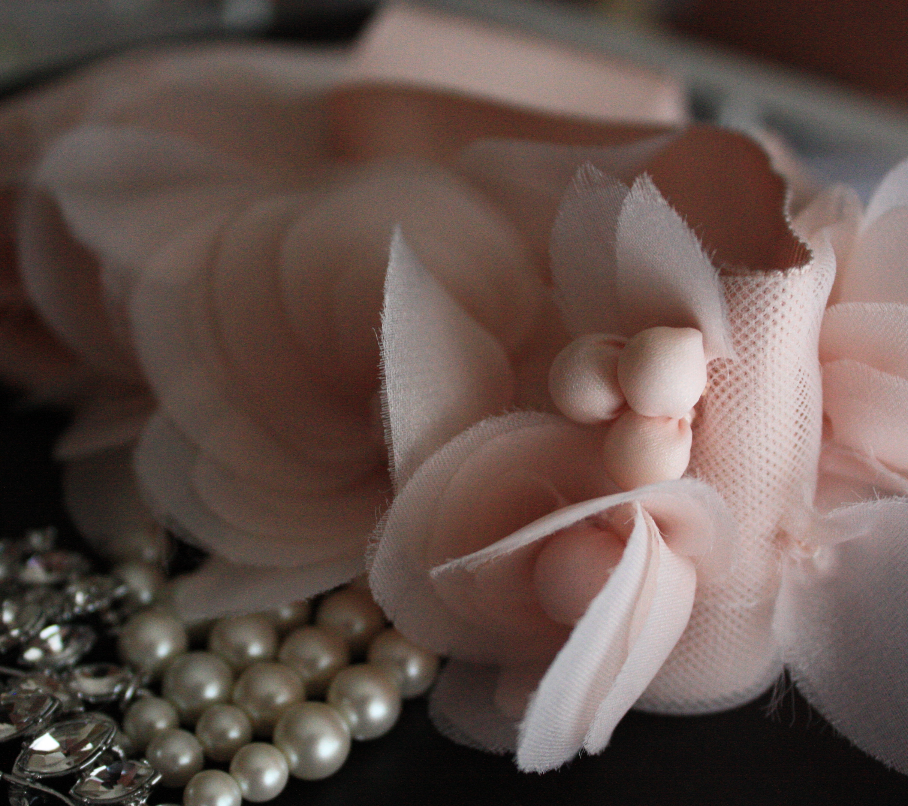 Blush Pink & Pearls