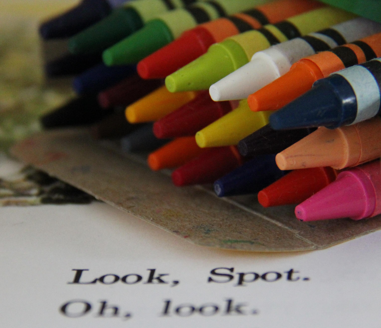 Crayons…