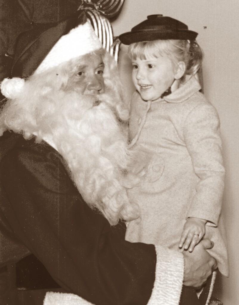Santa & Me Sepia