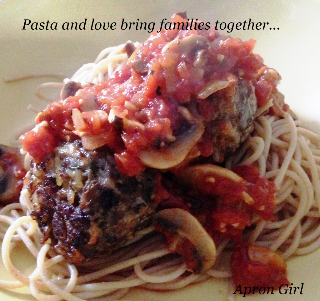 Pasta, Meat Balls, & Saying #2